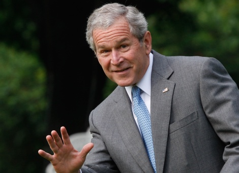 GEORGE W. BUSH LIBRARY SUSPICIOUSLY MISSING HISTORY BOOKS FROM 2000-2008