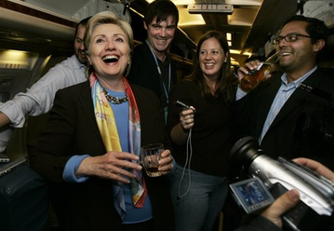 CLINTON'S SECRET WALL STREET TRANSCRIPTS REVEAL 9 STRAIGHT HOURS OF DRUNKEN KARAOKE